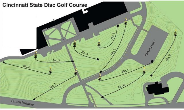 ABOUT THE SURGE DISC GOLF COURSE on